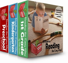 Reading the Easy Way - Sight word reading program for preschool, Kindergarten, 1st grade