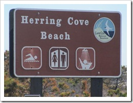 3.22.2012 Herring Cove sign Provincetown WW