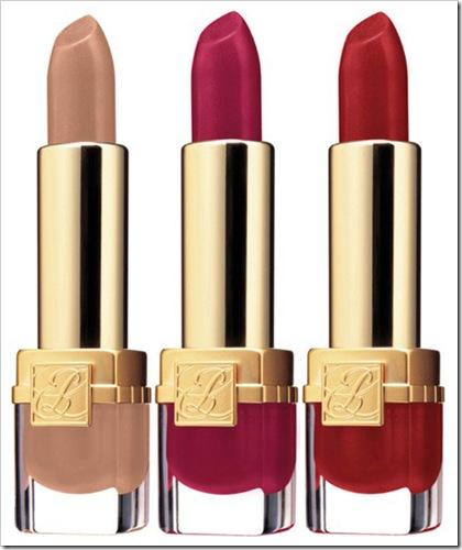 Estee-Lauder-Pure-Color-Velvet-Lipstick-in-Nude-Velvet-Fuchsia-Velvet-and-Red-Velvet-fall-2011