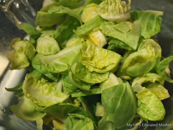 Peelapartsprouts #brusselssprouts #recipes #bestbrusselsspouts