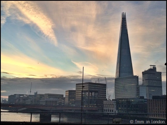London Bridge and the Shard from Cannon Street Bridge