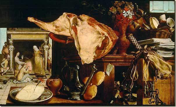 Peter Aertsten, Le Christ chez Marthe et Marie