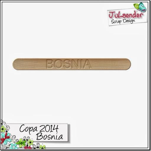 Uma correção – FREEBIE – Palito Bosnia