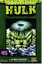 P00045 - Coleccionable Hulk #45 (de 50)
