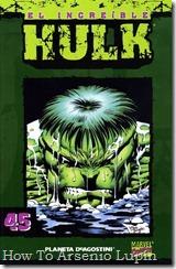 P00045 - Coleccionable Hulk #45 (de 50)