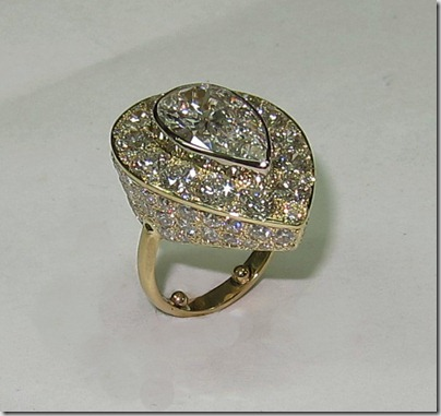 Pear Shaped Pave Ring (4)