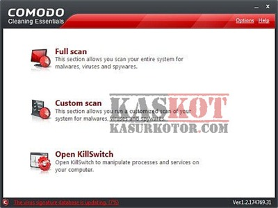 Comodo Cleaning Essentials - Portable Malware Scanner