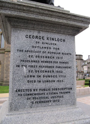 George Kinloch statue Dundee