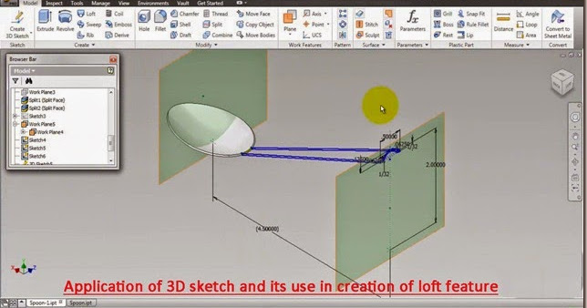 3d Solid Modelling Videos Application Of 3d Sketch With
