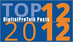 Top 12DPT posts 2012