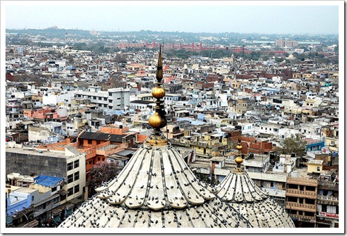 Birds-eye-View-of-Old-Delhi