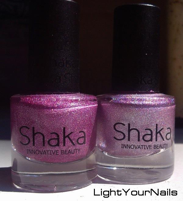 Shaka holographic Violet 2012 vs 2013