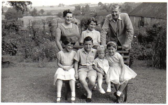 My family, 1958