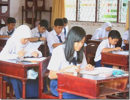 UN SMP Negeri 1 Wonoasri kab Madiun