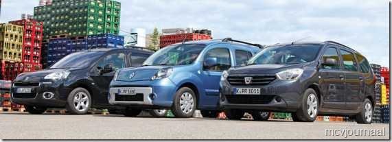 Dacia Lodgy - Renault Kangoo - Peugeot Partner 04