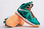 nike lebron 10 gr miami dolphins 5 04 Gallery: Nike LeBron X Miami Setting or Dolphins if you Like