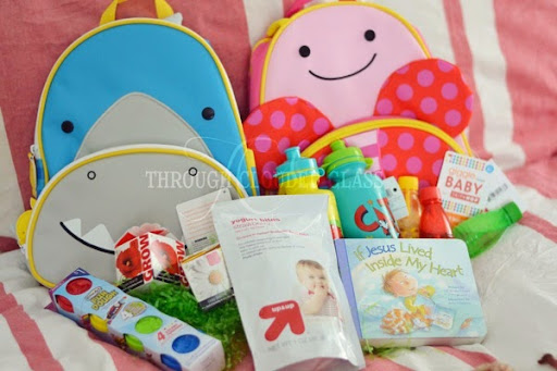 Easter Basket Ideas For Toddlers Through Clouded Glass