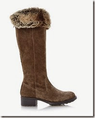 Linea Fur Cuff Boot