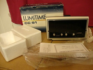 Lumitime CC-51 box and contents