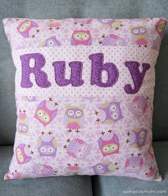 PJ Pillow - Ruby