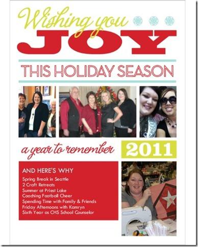 Christmas 2011 Card