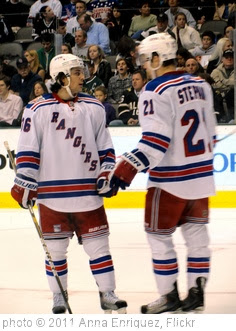 'Mats Zuccarello and Derek Stepan' photo (c) 2011, Anna Enriquez - license: http://creativecommons.org/licenses/by/2.0/