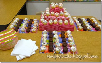 Teacher Appreciation Week - Catered Lunch - mudpiestudio@blogspot.com