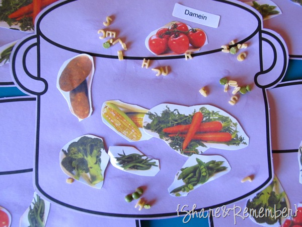 Supporting Child Wellness in Early Childhood Education Vegetable Soup Craft