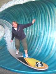 Florida 2013 Universal me catching a wave