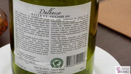 @tololobeach: Dalbosco Viognier 2010