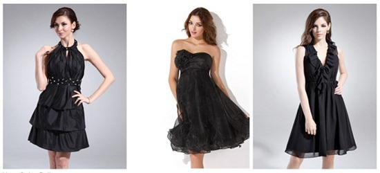 Black homecoming dresses - fab!