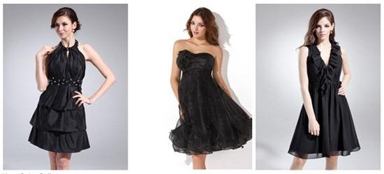 Black homecoming dresses - fab!