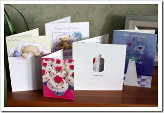 13 Get Well Cards