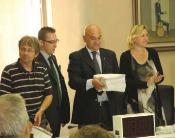Presentazione 12.000 firme, Piemontese ufficiale