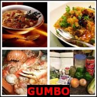 GUMBO- Whats The Word Answers