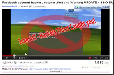 scam 5 Facebook Hacker
