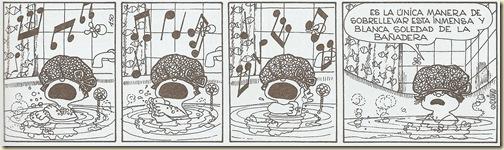 Mafalda blanca soledad