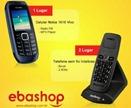 ebashop telefone sem fio celular