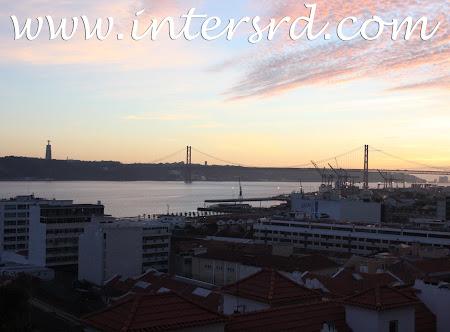 Fim do dia por Lisboa