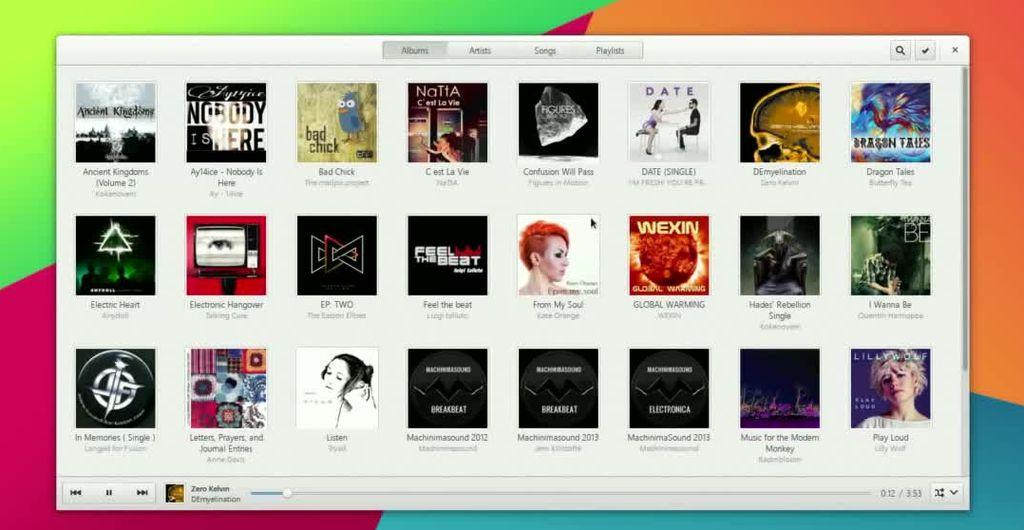 GNOME Music 3.13.2