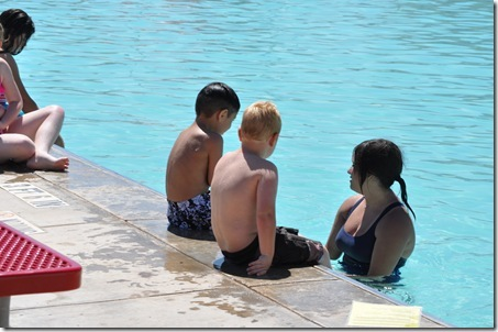06-21-11 Zane swim lessons 15