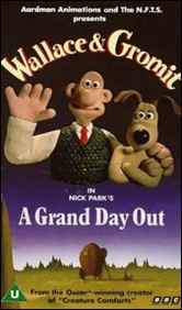 Wallace and Gromit - A Grand Day Out - poster