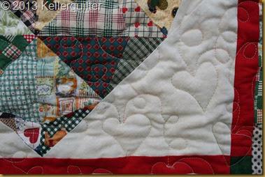 Quilt104-Herzquilt Detail