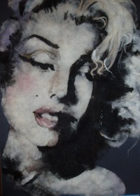 marilyn monroe painting