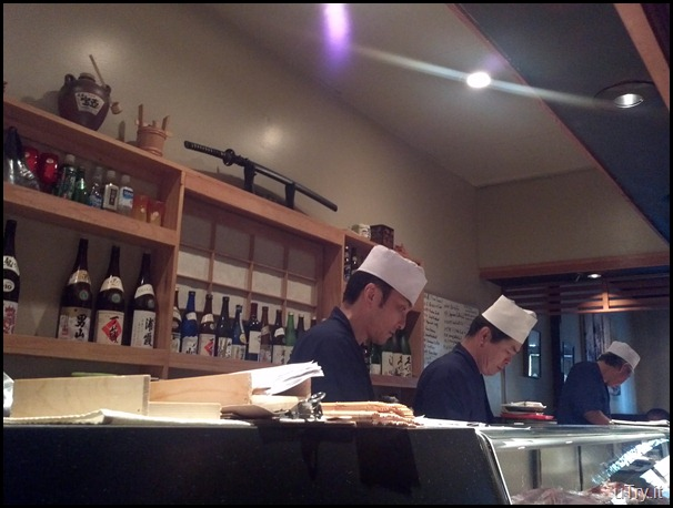 The 3 Sushi Bar Chef