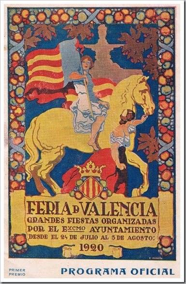 Programa oficial de la Feria. 1920