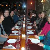 repas entre graveurs après le vernissage à Fredericia