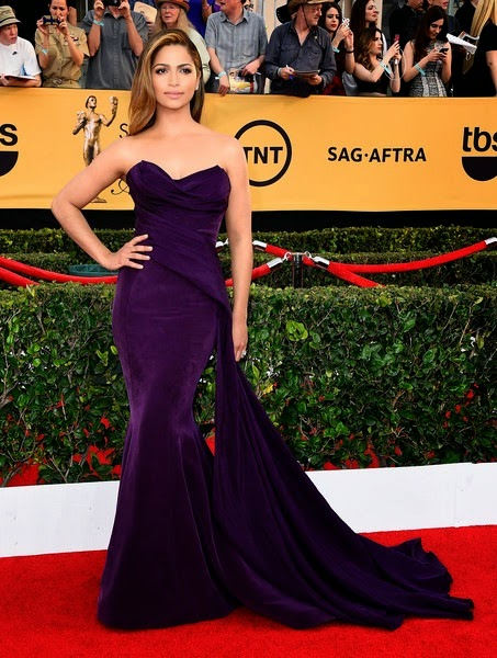 Camila Alves attends the 21st Annual Screen Actors Guild Awards
