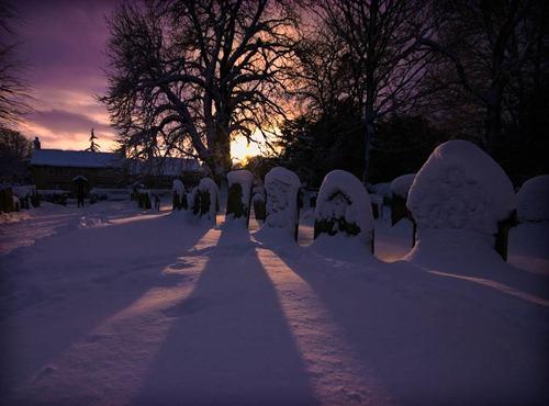 Snowy-Graveyard