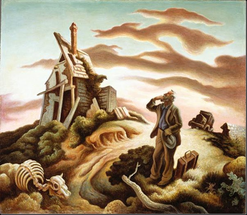 1939-41c Prodigal Son oil & tempera on panel 66 x 77 cm